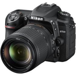 Nikon D7500 DSLR con Lente...